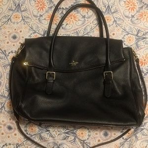 Kate Spade Brighton Park Pebbled Travel Leslie bag